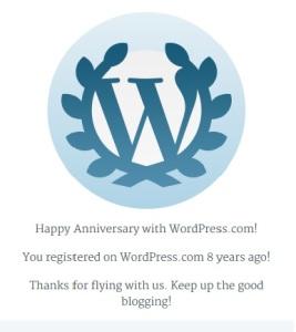 8 aastat wordpressis